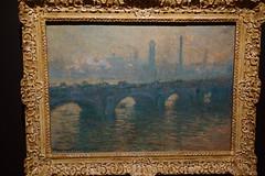 Waterloo Bridge Gray Weather  The Art Institute of Chicago MAG(16s)