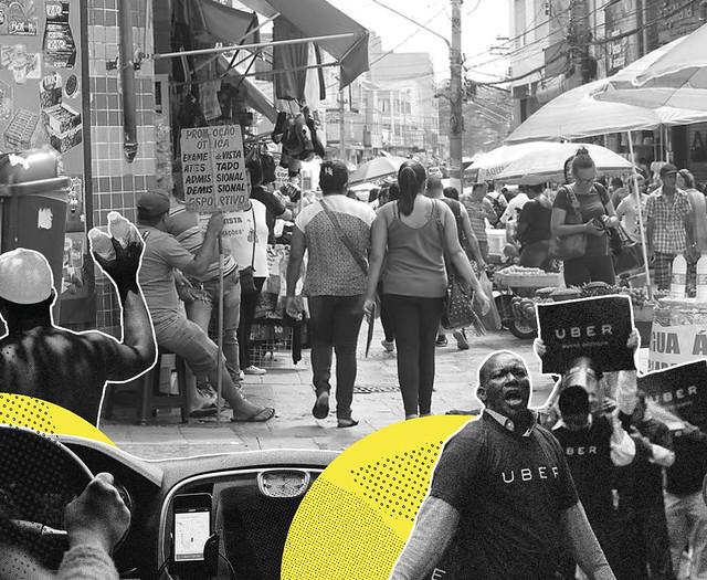De ambulante a motorista de aplicativo: Brasil tem 39 milhões no trabalho informal