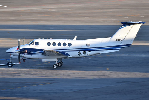Beechcraft B200 Super King Air 'JA122N'