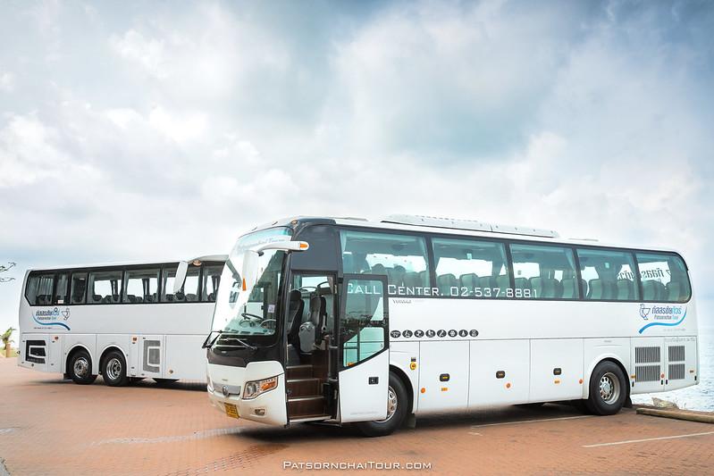 เช่ารถบัส - ภัสสรชัยทัวร์ ณ หาดคุ้งวิมาน จังหวัดจันทบุรี
