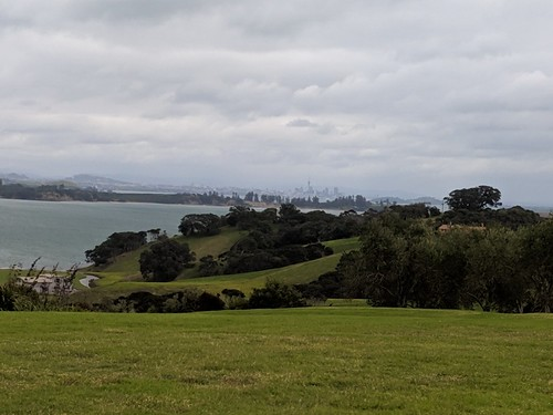 Looking across to Auckland from Cable Bay