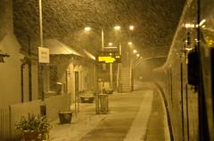 Sneeuw in Dalwhinnie, 3 mei 2019