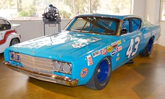 Richard Petty number 43 Ford Torino 427 c.i. flash photo Canepa Museum frame 11 DSC_0908