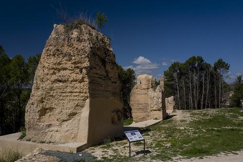 Restos de la muralla de Cifuentes.