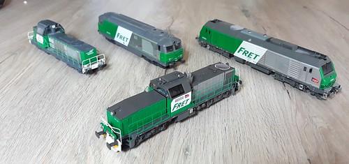 Familie FRET diesels! Met de nieuwste aanwinst,FRET 460054