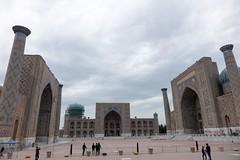 Registan o poranku, Samarkanda