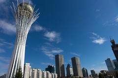 Centrum Astany - wieża Bajterek