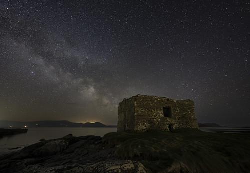 Ballinskelligs Castle Milky Way