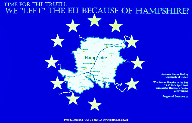 Prof Danny Dorling — Time for the truth: We 'left' the EU because of Hampshire — Winchester Skeptics