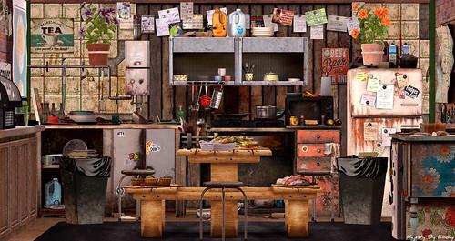 Majesty- Neglected Kitchen