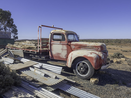 Neglected Old Truck