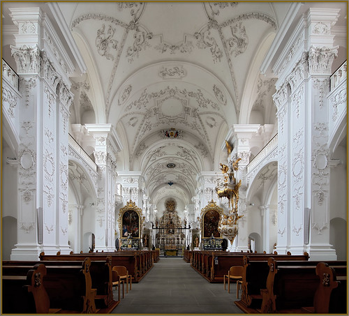Pfaffnau – Ehemalige Zisterzienserabtei St. Urban/Stiftskirche Unserer lieben Frau/former abbey St. Urban and collegiate Church Of our Lady.