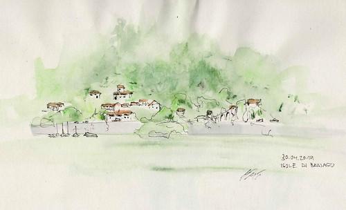 Isole di Brissago, Porto Ronco