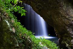 Gorgeous Macgregor Falls at Natural Bridge