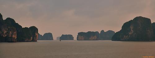 Bahía de Ha-Long, Vietnam.