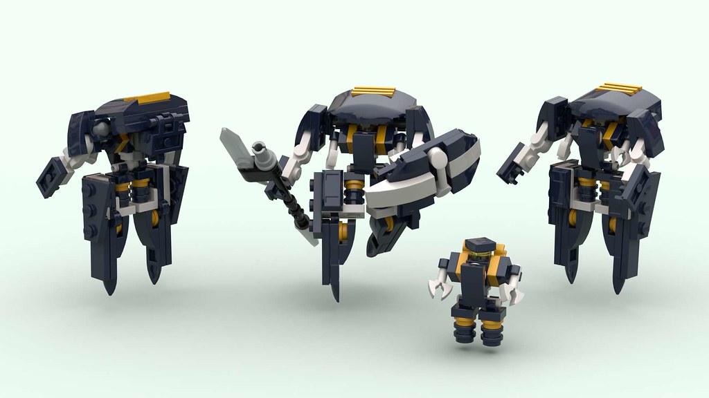 Tennin Power Suit w. Custom Outer Armor