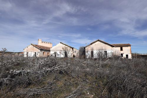 Poblado ferroviario de Moreda