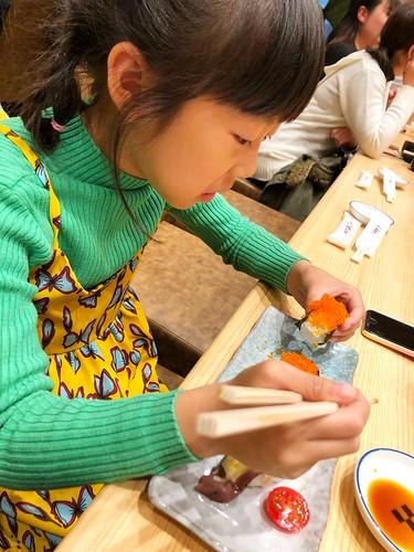 魚卵壽司也是阿米最愛
