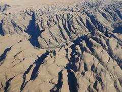 Vol au-dessus du désert du Namib - Namibie