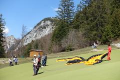 Takeoff area for paragliders @ Col de la Forclaz @ Hike around Pointe de Chenevier