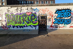 Graffiti at East Side Gallery Border, Berlin