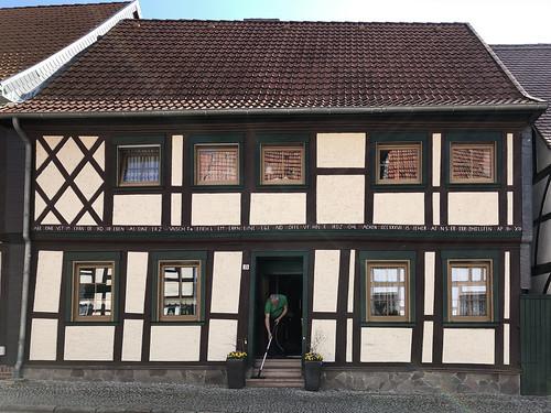 Fachwerkhaus in der Altstadt von Kalbe
