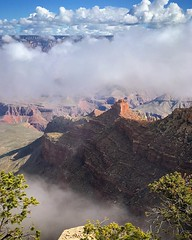 I was so happy my guests booked a tour today...otherwise I would have missed this. #grandcanyon #grandcanyon100 #nationalpark #sky #clouds #arizona #arizonaguide