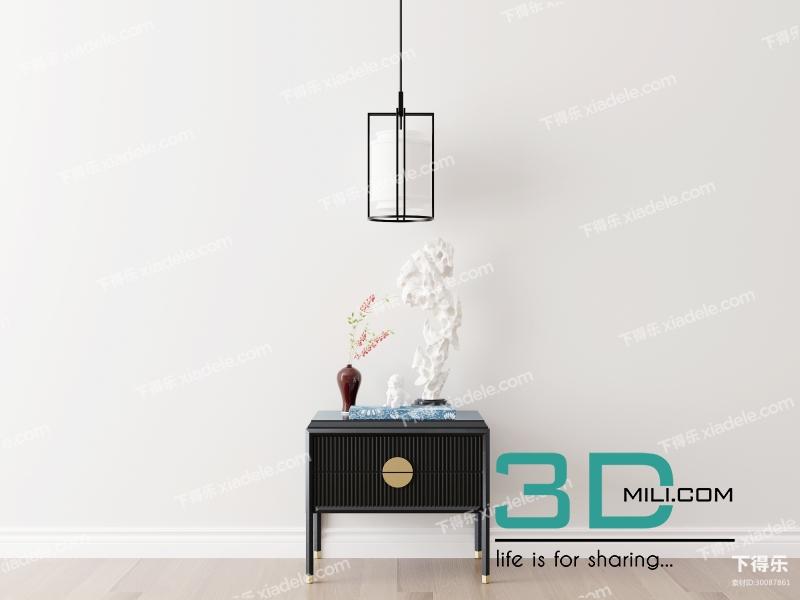 Album 3d model decorative cabinets vol 3 - 3D Mili