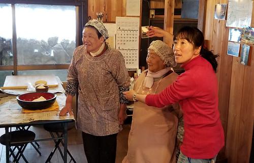 Sumie, Reiko and Takako