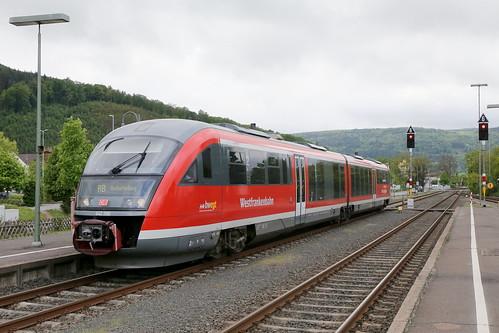 DB Regio 642 206-6 RB, Miltenberg am Main