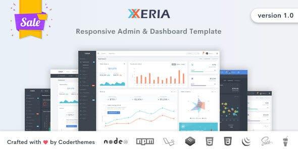 Xeria v1.0 - Responsive Admin & Dashboard Template