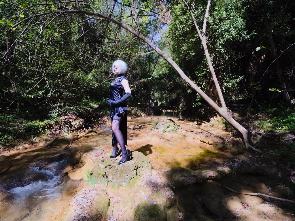 related image - Shooting Nier Automata - 2B - Lilou Madness - Cotignac -2019-04-28- P1588010