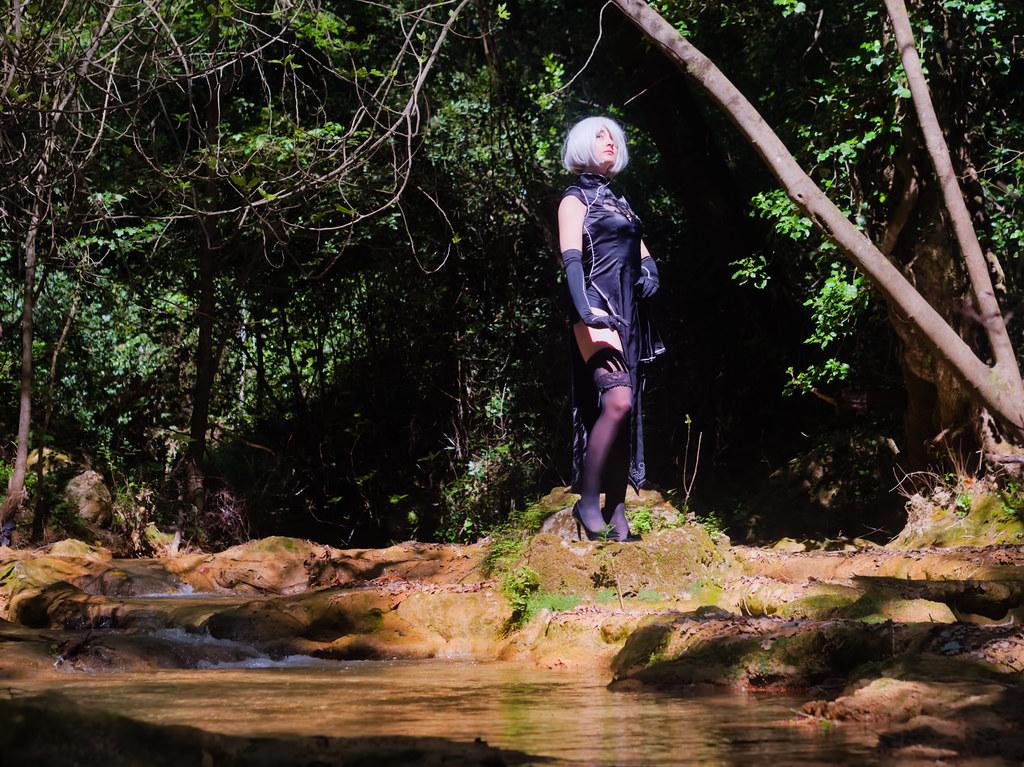 related image - Shooting Nier Automata - 2B - Lilou Madness - Cotignac -2019-04-28- P1588017