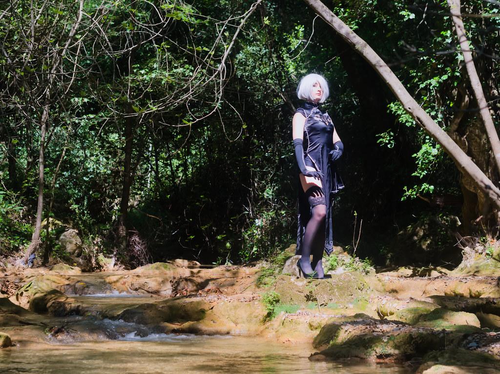 related image - Shooting Nier Automata - 2B - Lilou Madness - Cotignac -2019-04-28- P1588015
