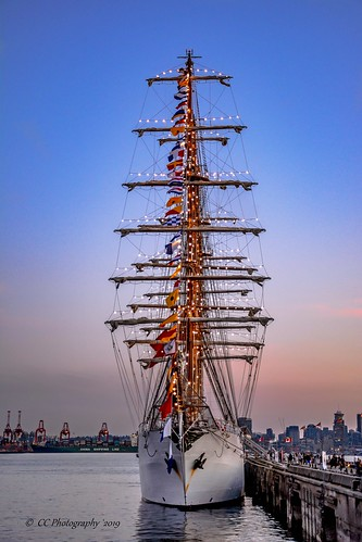 B.A.P.  Unión - Peruvian Tallship  - One of the largest sailing vessels  in the world