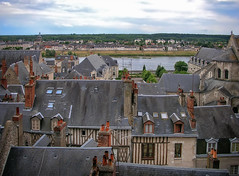 City of Blois and the Loire