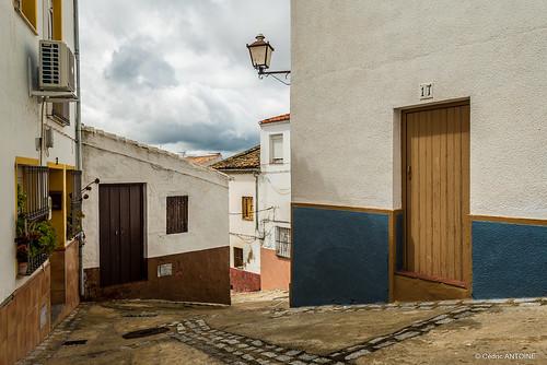 an alley in Olvera, Andalousia,  Spain [Explore]