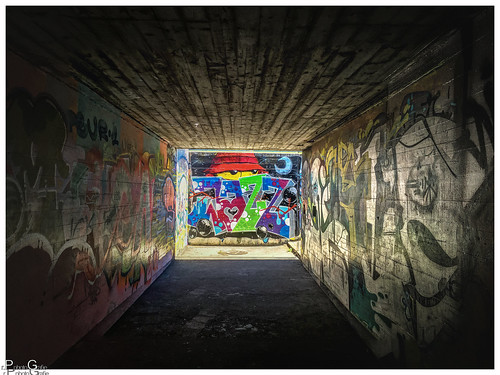 Licht am Ende des Tunnels / light at the end of the tunnel