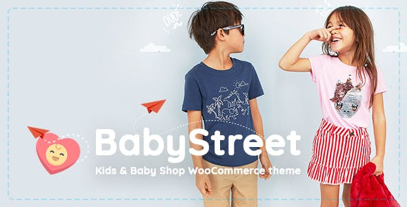 BabyStreet v1.1.0 - WooCommerce Theme for Kids Stores and Baby Shops Clothes and Toys