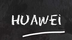 Huawei-auf-Tafel