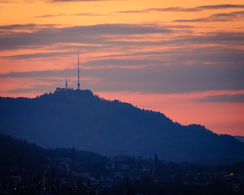 Uetliberg from Horgen