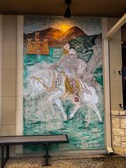 Conquistador Restaurant Mural