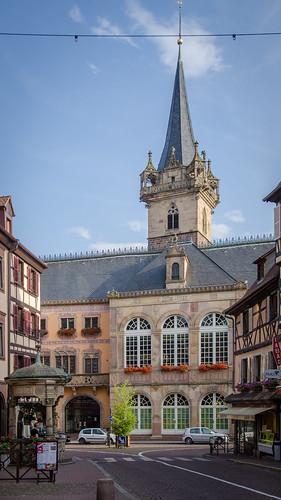 Rue Chanoine Gyss menant au centre-ville