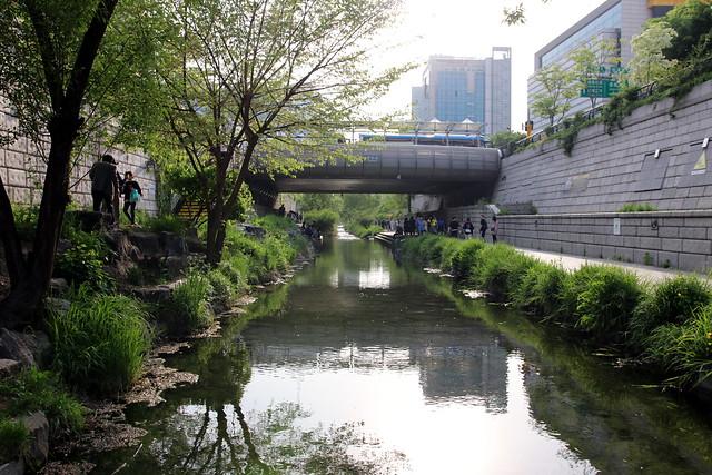 Cheonggye stream (Explored)