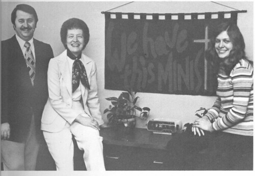 Dick Baxter C S Staff 1979