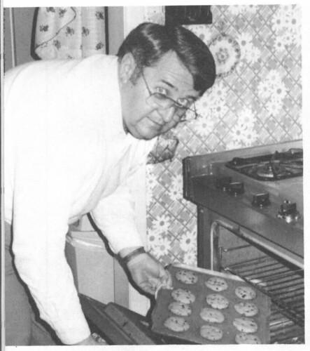 Dick Baking Cookies 1989