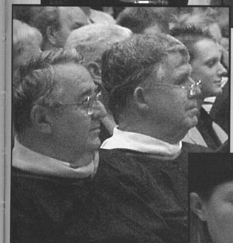 Dick at commencement 2003