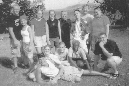 Dick and Mission Team 2001