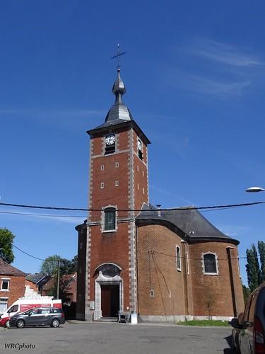 Eglise St Pierre à Haine-Saint-Pierre, Hainaut Belgique.