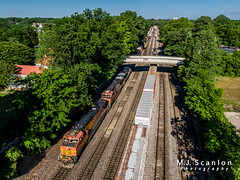 BNSF 5398 | GE C44-9W | BNSF Thayer South Subdivision
